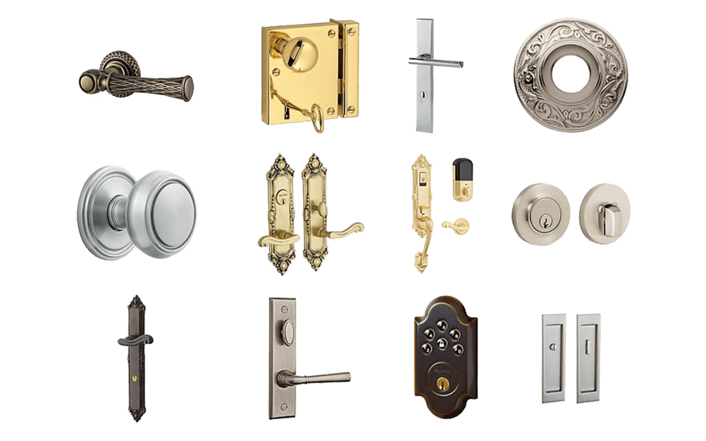 We Routinely Stock Some Of The Top Trusted Door Hardware Brands Like  Baldwin Hardware, Schlage, And Kwikset!